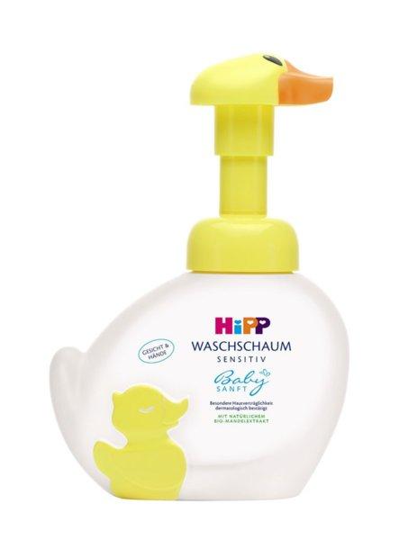 Hipp Пате измивна бебешка пяна за ръце и лице 250ml. 9541